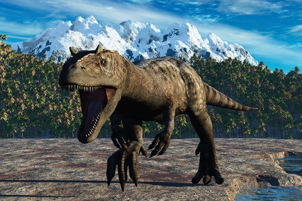 Tipo de dinosaurio Allosaurus